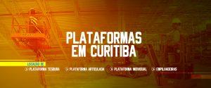 ALUGUEL DE PLATAFORMAS MOVEIS EM CURITIBA